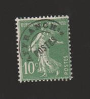 FRANCE / 1922-1947 / Y&T Préo N° 51 ** : Semeuse 10c Vert - Gomme Intacte X 1 - 1893-1947