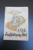 Livret  NSKK Kraftfahrzeug 64 Pages - Documenti