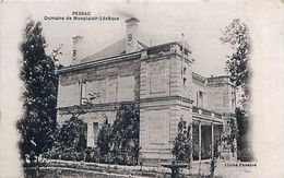 PESSAC (33) - DOMAINE DE MONPLAISIR- LEVÊQUE - Pessac