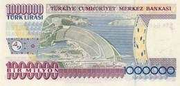 Turkey P.213 1000000 Lirasi 2002 Unc - Turquie