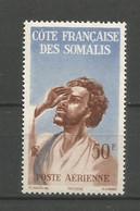 Timbre De Colonie Française Cote Des Somalis P-a Neuf ** N 20 - Ungebraucht