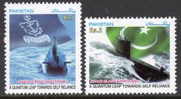 Pakistan 2003 Submarine Construction Set Of 2, MNH, SG 1220/1 (E) - Pakistan
