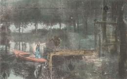 LIVRY (93) - Sévigné, Embarquement Sur Le Lac - Livry Gargan