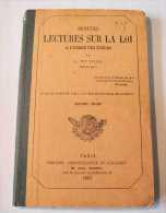 PUTOIS Juge De Paix PETITE* LECTURE* SUR LA LOI 1864 BIBLIOTHEQUE SCOLAIRE Enseignement Ecole Droit Social Penal Justice - 12-18 Years Old