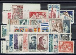 Fr - 1954 - Année Complète Postes - N° 968/1007 - XX - MNH - TTB - - 1950-1959