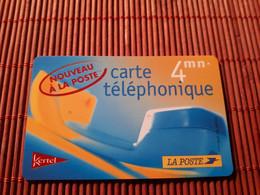 Prepaidcard La Poste Used 2 Scans Rare - Frankreich