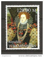 TURKMENISTAN - 1999 ELISABETTA I Regina D'Inghilterra Nuovo** MNH - Altri