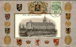 BELGIQUE - Carte Postale - Arlon - Eglise St Donat Et Square Elisabeth  - L 74493 - Arlon