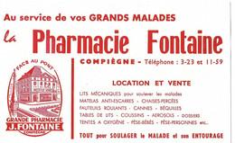 Buvard - Pharmacie FONTAINE, Compiègne Face Au Pont - Location Et Vente - Produits Pharmaceutiques