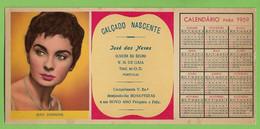 Gaia - Mata-Borrão Calçado Nascente Calendário Jean Simmons Blotter Buvard Calendar Actress Cinema England Portugal - Cinema & Teatro