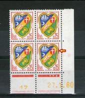 CD N° 1232**_27/1/60_le 100° Touche Le Cadre - 1960-1969