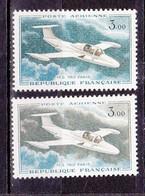 N° 39 Et N°39a MS 760 Paris: Vert Foncé Et Vert Foncé Et Bleu Vert: Beaux Timbre Neuf Impeccable - 1960-.... Nuovi