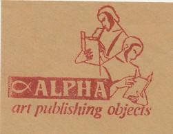 Meter Cut Netherlands 1983 Book - Read - Ichthus - Alpha - Art - Non Classificati