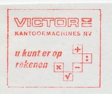 Meter Cut Netherlands 1974 Calculators - Victor - Non Classificati