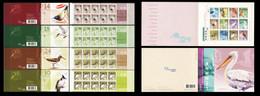Hong Kong  2006 Yvert Carnets Booklets C1301 + C1305a + C1306a + C1309a + C1311a Oiseaux Birds Uccelli Vogel Pajaros - Cuadernillos/libretas