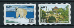 FRANCE 2009 . Service N°s 144 Et 145 . Neufs ** (MNH) . - Nuovi