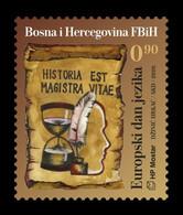 Bosnia And Herzegovina (Croatian) 2020 Mih. 549 European Day Of Languages MNH ** - Bosnië En Herzegovina