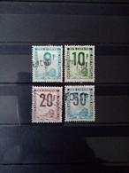 FRANCE. 1948-54 . Colis Postaux N° 27 à 30 . Série Compléte . Oblitérés . Côte YT 2020 : 55,00 € - Oblitérés