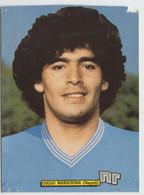 MARADONA # NAPOLI Calcio # Ed. Gol, 1984   #  Cartolina # (vedi Foto) - Fútbol