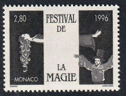 MONACO - 12e Festival De Magie - Y&T N° 2027 - 1996 - Ungebraucht