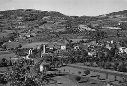 """9833""""SCURANO-VALLATA-m. 800"""" PANORAMA -VERA FOTO-CARTOLINA SPEDITA 1956 - Parma"""