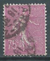 France YT N°202 Semeuse Lignée Oblitéré ° - 1903-60 Sower - Ligned