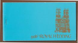 Br. Virgin Islands Booklet Royal Wedding Prince Andrew + Sarah Furguson  1986 - British Virgin Islands