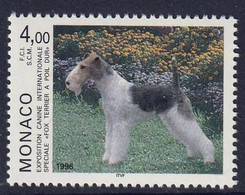 MONACO - Exposition Canine Internationale - Fox-terrier à Poil Dur - Y&T N° 2029 - 1996 - Ungebraucht