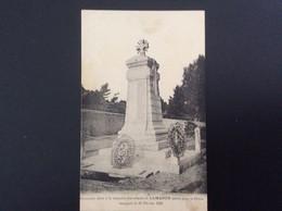 Lamanon (Bouches-du-Rhône - 13) : Monument à La Mémoire Des Enfants De Lamanon Morts Pour La Patrie - Otros Municipios