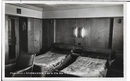 Thème Bateau.PAQUEBOT NORMANDIE - Steamers