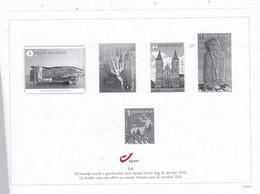 ZWART WIT BLAADJEUITGAVE 26/10/2020  FLEUILLET  NOIR ET BLANC DE1JOUR 23/10/2020 NR 5/5 - Blocks & Sheetlets 1962-....