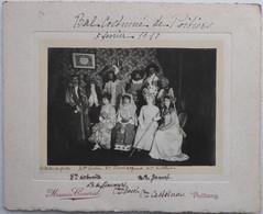 POITIERS  Bal Costumé Du 5 Février 1910 - Photo Maurice Couvrat Poitiers - Sonstige