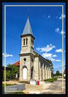25  Le SOUILLOT   ...  L'eglise - Other Municipalities