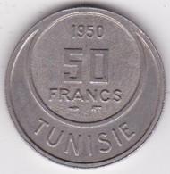 TUNISIE. 50 FRANCS 1950 (AH 1370). Copper Nickel - Tunisie