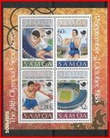 SAMOA 1988 Olympic Games - Seoul, South Korea  BF 44  ** - Samoa