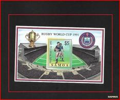SAMOA 1991 World Cup Rugby Championships   BF 49 ** - Samoa