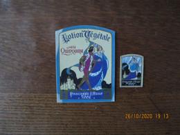 2 ETIQUETTES MIRALY PARIS PRINCESSE D'AZUR - Labels