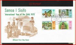 SAMOA  1979 International Year Of The Child FDC - Samoa