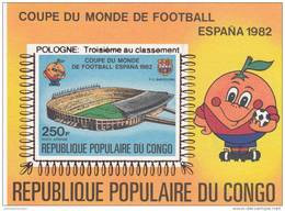 Congo 4 Pruebas Sobrecargadas Campeones España 82 - 1982 – Espagne