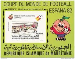 Mauritania 4 Pruebas - 1982 – Espagne