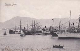 ITALIA. PALERMO. PORTO. ITALIE CPA CIRCULEE 1912 A VENEZIA - LILHU - Palermo