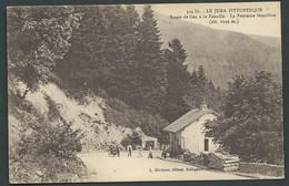 Le Jura Pittoresque  -  Route De Gex à La Faucille- La Fontaine Napoléon      Maca 1884 - Otros Municipios
