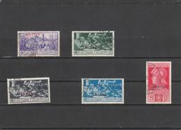 COLONIE ITALIANE ERITREA UNIF 165-69 USATI (JF140 - Eritrea