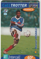 Télécarte :  Carte  Prépayée : Calltrotter  Football :  Desailly - Frankreich