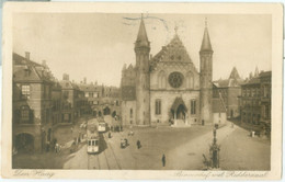 Den Haag 1915; Binnenhof Met Ridderzaal (Tram) - Gelopen. (Weenenk & Snel - Den Haag) - Den Haag ('s-Gravenhage)