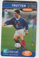 Télécarte :  Carte  Prépayée : Calltrotter  Football :  Lizarazu - Frankreich