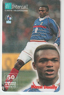 Télécarte :  Carte  Prépayée : InterCall  Football :  Desailly - Frankreich