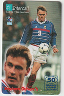 Télécarte :  Carte  Prépayée : InterCall  Football :  Guivarc' H - Prepaid-Telefonkarten: Andere