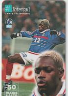 Télécarte :  Carte  Prépayée : InterCall  Football :  Ibrahim  Ba - Frankreich