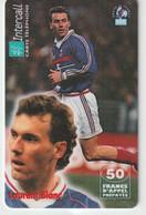 Télécarte :  Carte  Prépayée : InterCall  Football :  Blanc - Prepaid-Telefonkarten: Andere